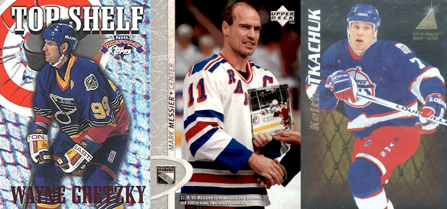 Wayne Gretzky - Mark Messier - Keith Tkachuk